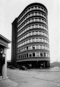 Keskusosuusliike OTK. OTK:n pääkonttori Hämeentiellä vuonna 1933. Helsinki. Kuva: Työväen Arkisto.
